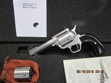 """Freedom Arms Model 97 Premier DUAL cylinder .45LC/.45ACP 4 1/4"""" Round butt New in box"""