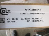 Colt M4 Carbine LE6920 5.56 New in box 30 rd. - 5 of 6