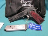 Ed Brown Signature Series.45acp Fully Engraved New