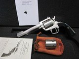 """Freedom Arms Model 97 Premier DUAL cylinder .357Mag./9MM5 1/2"""" New in box"""