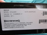 """Browning Maxus 12ga. 3"""" Chamber Stalker 28"""" vent New in box - 7 of 7"""