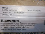 "Browning Maxus Ultimate 12ga. 28"" New in box - 9 of 9"