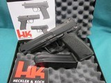 Heckler & Koch USP45 Expert-V1 w/safety 2-12 round mags New in box - 1 of 5