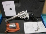 """Freedom Arms Model 83 Premier DUAL cylinder .500Wy/.50AE 6"""" New in box"""