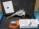"""freedom arms model 83 premier dual cylinder .454 casull/.45lc. 6"""" new in box"""