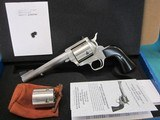 """Freedom Arms Model 83 Premier Dual Cylinder .454 Casull/.45ACP 6"""" new in box"""