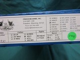 """Freedom Arms Model 83 Premier Dual Cylinder .454 Casull/.45LC. 6"""" new in box - 5 of 5"""
