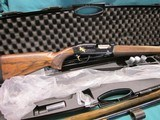 """Browning Maxus """"Black Gold"""" 12ga. 28"""" New in box Blue with Gold Ducks"""