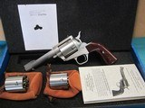"""Freedom Arms Model 83 Premier Triple cylinder .454Casull/.45LC/.45acp4 3/4""""new in box"""