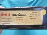 "Belgium Browning Superposed 20ga. 26.5"" IC,Mod. like new in box 1973 - 10 of 11"