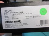 """Browning Citori White Lightning 28ga. 28"""" New in box limited production - 10 of 10"""
