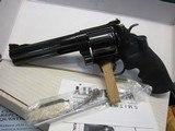 """smith & wesson model 29 5 classic hunter .44 mag. 6"""" new in box prelock"""