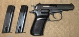 CZ-83 in 9mm Browning (.380 ACP) With 2 Factory Magazines