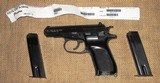 CZ-82 in 9mm Makarov With 2 Factory Magazines