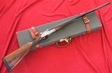 "Grulla Arms ""Baer & Co"" Custom Royal 28Ga. With Case"