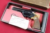"Colt Diamondback 4"" Blue .22LR 1969, Box and Test Target!"