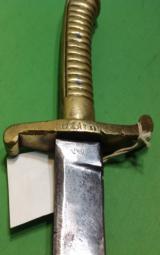 Saxan Fusiler Short Sword Possibly CSA - 3 of 5