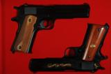 Colt Tier II and Tier III 100 year anniversary pistols with same serial number 13 - 1 of 6