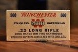 Full Brick Winchester Super Speed 22 Long Rifle - 1 of 2