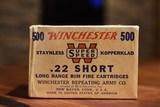 Brick Winchester Super Speed 22 Short - 1 of 2