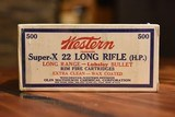 Brick Western Super-X 22 Long Rifle Hollow Point