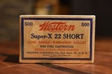 Brick Western Super-X 22 Short - 1 of 2