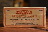 Brick Western SUPER-MATCH MARK III 22 Long Rifle