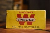 RARE Winchester SUPER-SPEED 22 Long Rifle - 1 of 2