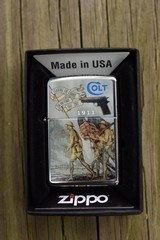 Zippo lighter for Colt 1911 100 year anniversary