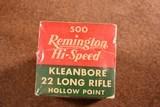 Remington Hi-Speed Kleanbore full brick LRHollow Point - 2 of 2