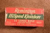 Remington Hi-Speed Kleanbore full brick LRHollow Point - 1 of 2