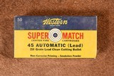 Western Super Match 45 Automatic