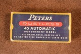 Peters RUSTLESS 45 Auto Ammo from 40's or 50's