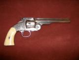 Smith & Wesson 2nd Model Schofield with Jinks letter