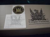 Cooper Custom Ordered Model M57 - .22 Long Rifle -Left Hand. - 7 of 12