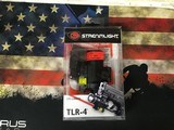 Streamlight 170 Lumens Rail Mounted Tactical Led Flashlight with Laser TLR-4