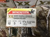 WINCHESTERSUPER DOUBLE X MAGNUM12GAUGE3 INCH.....1 AND7/8 OUNCE OF SHOT - 2 of 8
