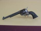 COLT SINGLE ACTION ARMY FIRST GENERATION .45 LC REVOLVER - 1 of 12
