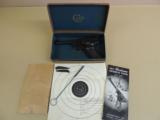 COLT WOODSMAN SECOND SERIES SPORT .22LR PISTOL IN BOX (INVENTORY #9279)