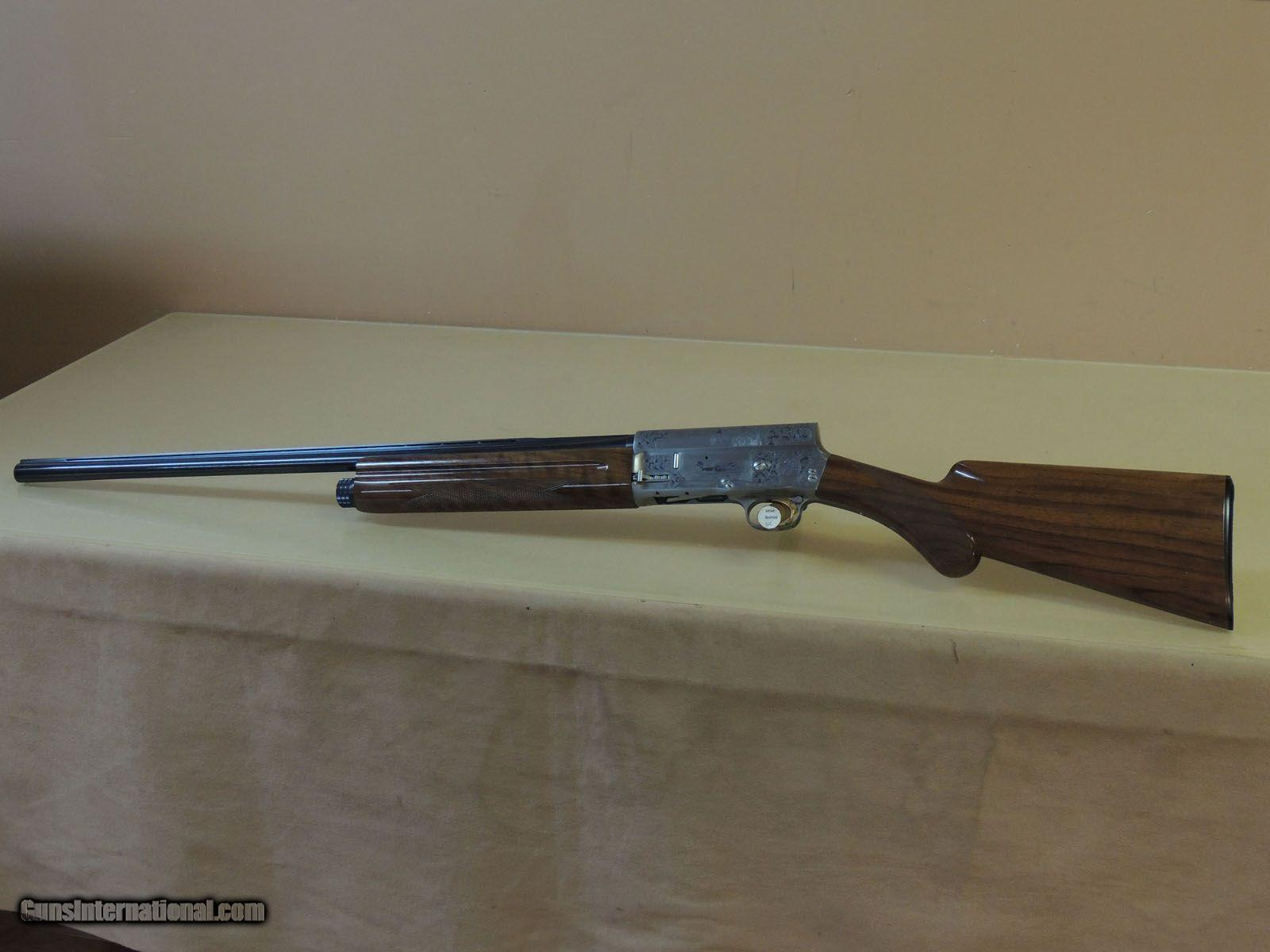dating browning a5 shotgun While every effort has been made to ensure that the information provided on serial numbers and dates of manufacture are accurate, records on early production models such as the auto-5 and superposed shotguns were not included due to the complexity of numbers, models and grades offered also, there have been.