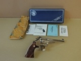 "SMITH & WESSON 19-6 .357 MAGNUM REVOLVER ""HANDS OFF"" SPECIAL EDITION (INVENTORY#10020)"