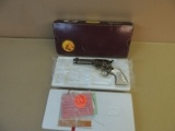 COLT FACTORY ENGRAVED CUTAWAY SINGLE ACTION ARMY .45LC REVOLVER IN BOX (INVENTORY#9855)