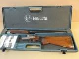BERETTA 627 EELL 12 GAUGE SIDE BY SIDE SHOTGUN (INVENTORY#9952) - 12 of 12