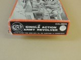 COLT SINGLE ACTION ARMY STAGECOACH BOX ONLY (INVENTORY#9967)
