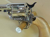 COLT FACTORY ENGRAVED CUTAWAY SINGLE ACTION ARMY .45LC (INVENTORY#9854) - 6 of 7