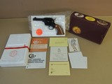 COLT SINGLE ACTION ARMY BLACK POWDER FRAME SHERIFFS MODEL 45 COLT REVOLVER IN BOX (INVENTORY#9206)