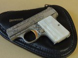 SALE PENDING-------------------------------------------BROWNING RENAISSANCE BABY .25 ACP PISTOL IN POUCH (INVENTORY#10084)