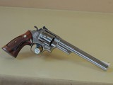 SMITH & WESSON NICKEL MODEL 29-2 .44 MAGNUM REVOLVER (INVENTORY#10146)