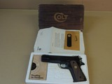 COLT GOLD CUP NATIONAL MATCH SERIES 70 .45ACP PISTOL IN BOX (INVENTORY#10160)