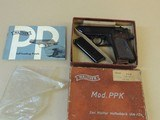 SALE PENDING--------------------------------------------------------WALTHER PPK .22LR GERMAN PISTOL IN BOX (INVENTORY#10103)